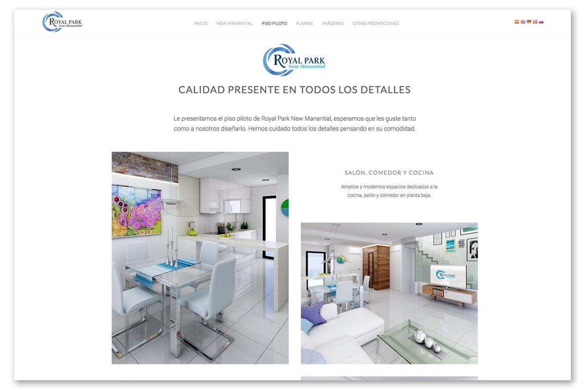 Visualizaci n 3d de un proyecto inmobiliario con infograf a 3d for Infografia 3d